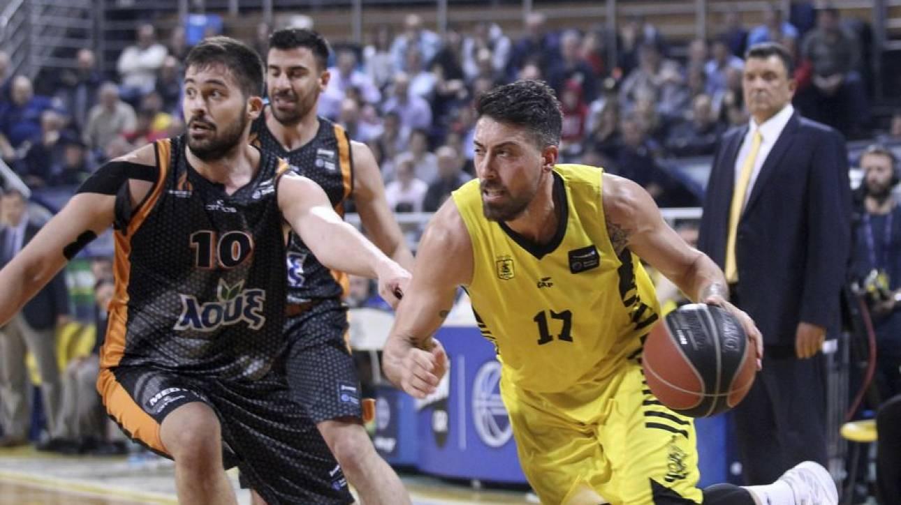 Basket League: «Ανάσα» για Άρη παρά το… καλάθι της χρονιάς (vid)