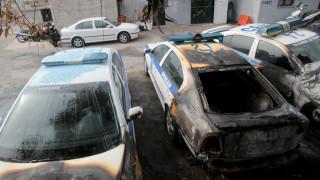 Πώς έγινε η επίθεση με μολότοφ στην Τροχαία Περιστερίου