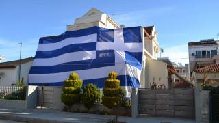 25η Μαρτίου: Οι σημαίες που τράβηξαν την προσοχή σε Ηγουμενίτσα και Αργολίδα
