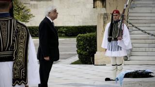 Παυλόπουλος: Θα υπερασπιζόμαστε πάντοτε την Ελευθερία, τα σύνορα και το έδαφός μας