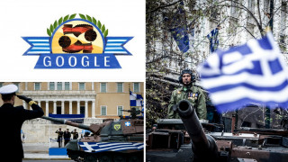 Η 25η Μαρτίου κάνει τον γύρο του κόσμου μέσω του Doodle της Google