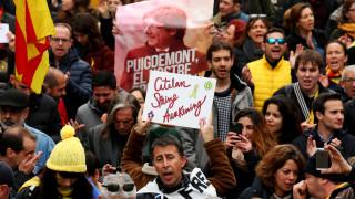 Διαδηλώσεις στη Βαρκελώνη για την σύλληψη του Πουτζντεμόν