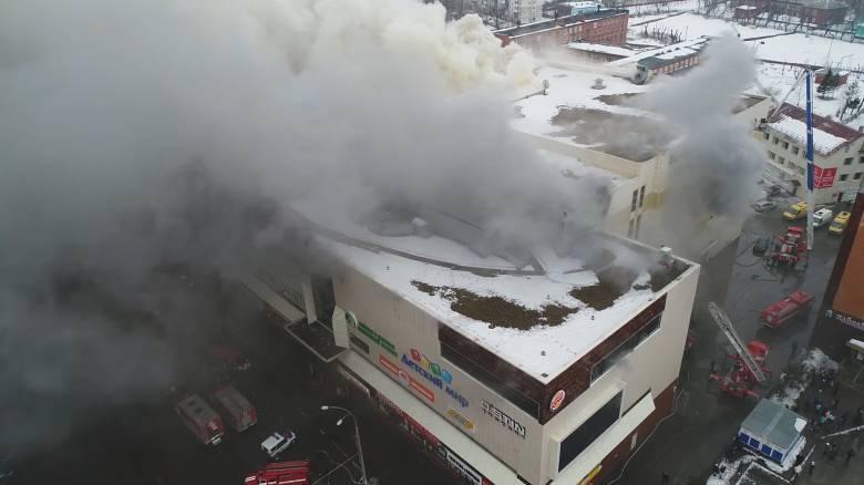 Φονική πυρκαγιά στη Ρωσία: Ξεπερνούν τους 60 οι νεκροί, ανάμεσά τους δεκάδες παιδιά