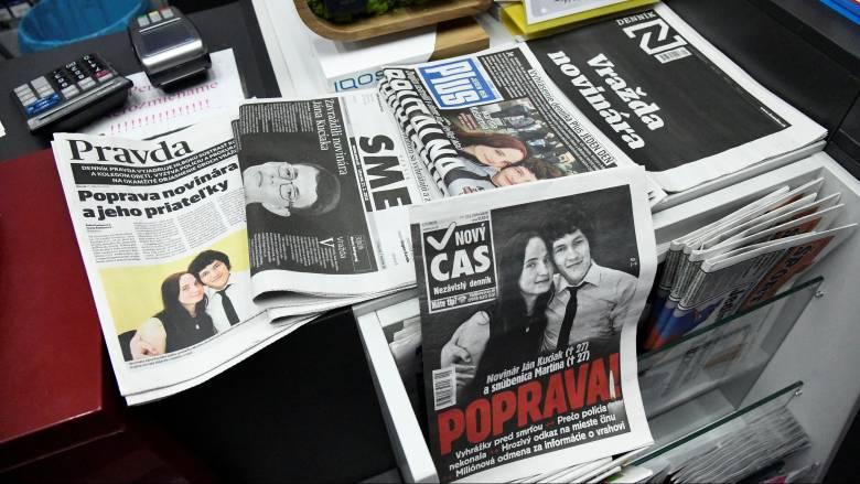 «Συμβόλαιο θανάτου» η δολοφονία του δημοσιογράφου στη Σλοβακία