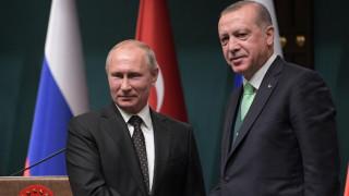 Πούτιν και Ερντογάν συζήτησαν για την τριμερή σύνοδο κορυφής για τη Συρία