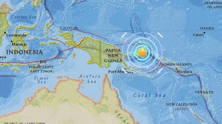Σεισμική δόνηση 6,9 Ρίχτερ στην Παπούα Νέα Γουινέα - Εκδόθηκε προειδοποίηση για τσουνάμι