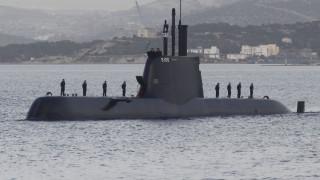 Το υποβρύχιο «Παπανικολής» μαζί με το αμερικανικό «Iwo Jima» στην ανατολική Μεσόγειο