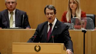 Αναστασιάδης: Απαιτείται ενότητα και επαγρύπνηση στη διαπραγμάτευση για το Κυπριακό