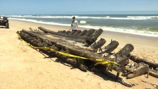 Κουφάρι από πλοίο του 18ου αιώνα ξεβράστηκε σε παραλία της Φλόριντα