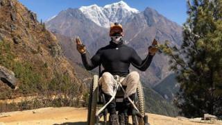 Σκοτ Ντούλαν: Ο πρώτος παραπληγικός που έφτασε τα 5.364 μέτρα στο Έβερεστ