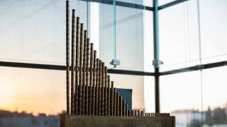 Γνωριμία με το αρχαίο όργανο ύδραυλις στο Μουσείο της Ακρόπολης
