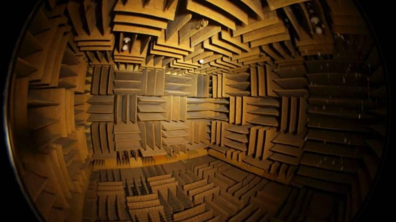 Μέσα στο πιο ήσυχο δωμάτιο του κόσμου