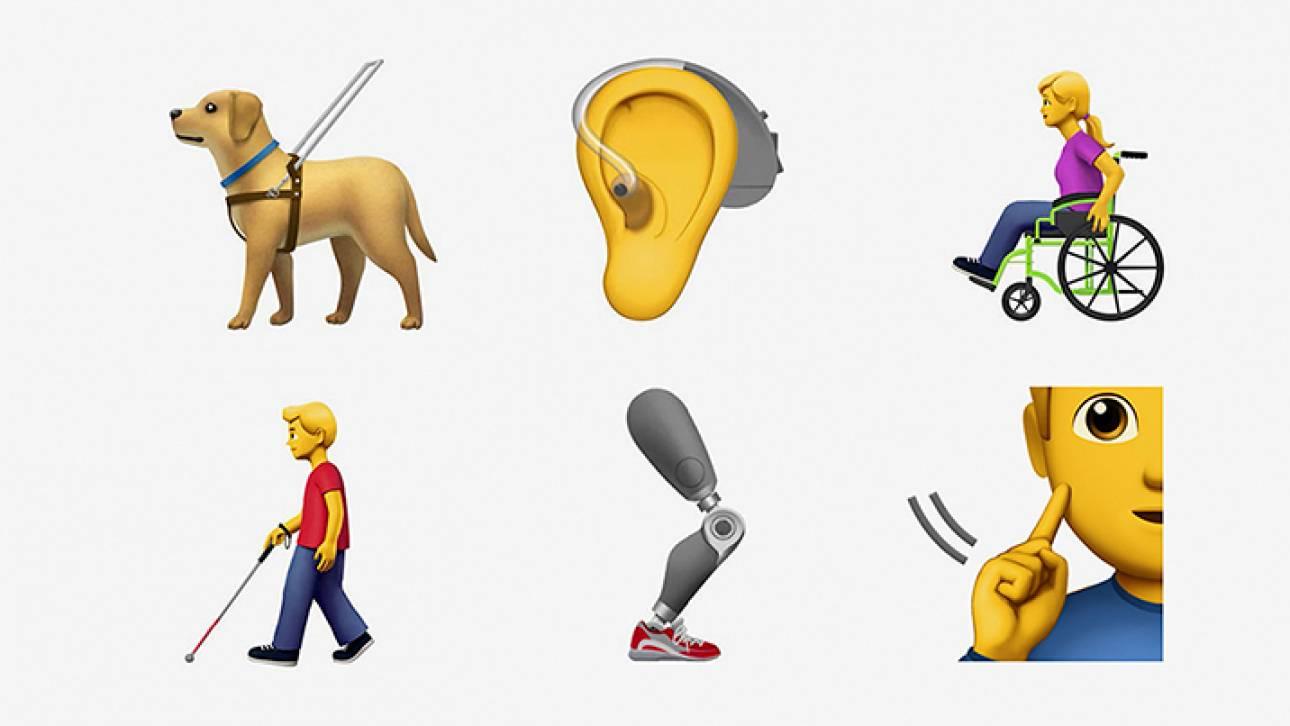Apple: με 13 emojis βγάζει τα ΑμΕΑ από την «αφάνεια»