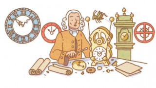Στον ωρολογοποιό Τζον Χάρισον αφιερωμένο το σημερινό Google Doodle