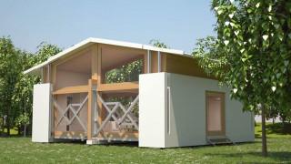 uBox: Το φορητό σπίτι που χτίζεται μόνο του σε λιγότερο από... δέκα λεπτά (pics&vid)