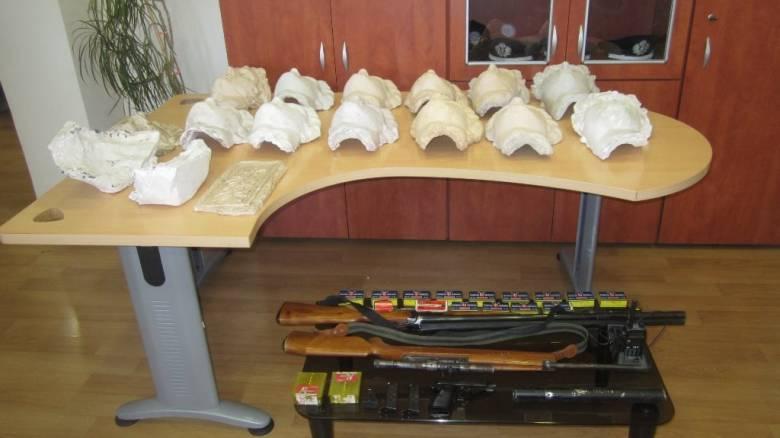 Σύλληψη ζεύγους Γερμανών συνταξιούχων για αρχαιοκαπηλία στη Θεσπρωτία