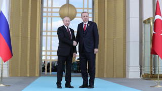 Συνάντηση Πούτιν-Ερντογάν: Το 2023 θα λειτουργήσει ο πυρηνικός σταθμός του Άκουγιου