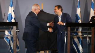 Τηλεφωνική επικοινωνία Τσίπρα - Νετανιάχου ενόψει της τριμερούς Συνόδου Κορυφής