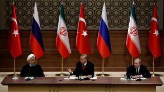 Ερντογάν, Πούτιν και Ροχανί υπέρ μιας «σταθερής εκεχειρίας» στη Συρία