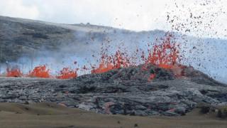 Εντυπωσιακές εικόνες από την ενεργοποίηση του ηφαιστείου Κιλαουέα στη Χαβάη