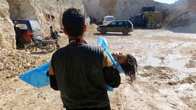 Συρία: Δεκάδες άμαχοι νεκροί στη Ντούμα-Αναφορές για επίθεση με χημικά