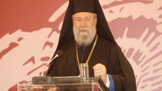 Με τρίτη τουρκική εισβολή παρομοίασε τις τουρκικές ενέργειες στην ΑΟΖ ο Αρχιεπίσκοπος Κύπρου