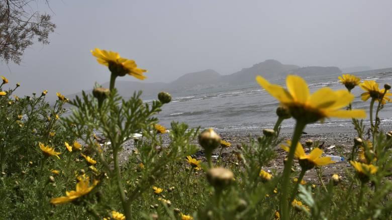 Καιρός: Νεφώσεις, λίγες βροχές και σκόνη τη Δευτέρα του Πάσχα