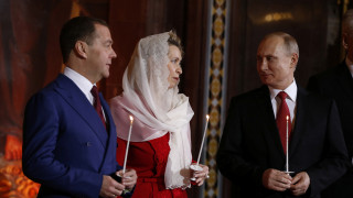 Στη Μόσχα έκανε Ανάσταση ο Βλαντιμίρ Πούτιν