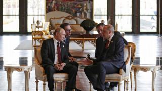 Την ανησυχία του για τις επιθέσεις στην ανατολική Γκούτα εξέφρασε ο Ερντογάν στον Πούτιν