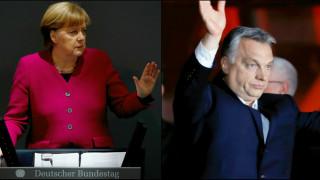Συνεργασία Μέρκελ - Όρμπαν παρά τις διαφορές περί μεταναστευτικής πολιτικής