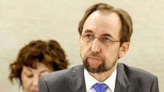 Συρία: Καταδίκη της στάσης των μεγάλων χωρών από τον Ζέιντ Ράαντ αλ-Χουσέιν