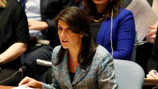 Χέιλι: Οι ΗΠΑ θα απαντήσουν στη χημική επίθεση στη Συρία