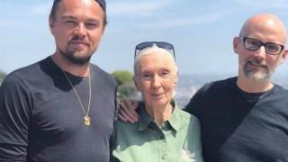 Λεονάρντο ΝτιΚάπριο: με τη σπουδαία Τζέιν Γκούντολ για ένα καλύτερο κόσμο
