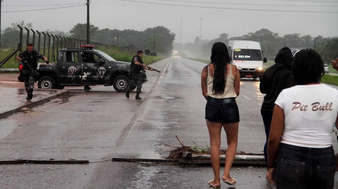 Τουλάχιστον 21 νεκροί σε απόπειρα ομαδικής απόδρασης κρατουμένων στη Βραζιλία