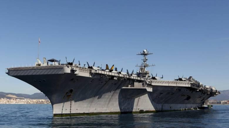 Το αεροπλανοφόρο USS Harry S. Truman στέλνουν οι ΗΠΑ στη Μεσόγειο