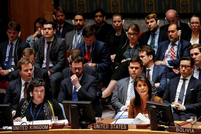 2018 04 09T204925Z 1993176870 RC1AD2C00790 RTRMADP 3 MIDEAST CRISIS SYRIA UN
