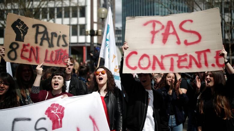 Γαλλία: Κατάληψη στο πανεπιστήμιο Paris I - Επέμβαση της αστυνομίας ζητά ο πρόεδρος