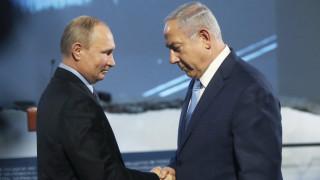 Ο Πούτιν προτρέπει τον Νετανιάχου να σεβαστεί την κυριαρχία της Συρίας