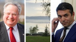 Το κρίσιμο ραντεβού Κοτζιά - Ντιμιτρόφ στην Αχρίδα και οι δύσκολες απαντήσεις που περιμένει η Αθήνα