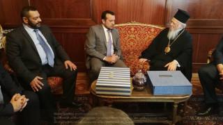 Το Οικουμενικό Πατριαρχείο επισκέφτηκε ο Νίκος Παππάς