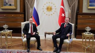 Επικοινωνία Πούτιν - Ερντογάν για τη Συρία