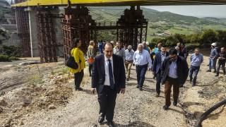 Σπίρτζης: Έτοιμη μέχρι το φθινόπωρο η σιδηροδρομική γραμμή στη Φθιώτιδα