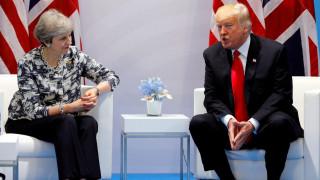 Με το βλέμμα στραμμένο στη Συρία Τραμπ και Μέι -  Συμφωνούν για διεθνή αντίδραση