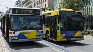 Τροποποιήσεις στα δρομολόγια λεωφορείων και τρόλεϊ την Κυριακή στην Αθήνα