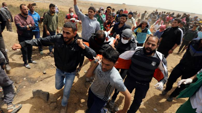 Νέες συγκρούσεις μεταξύ διαδηλωτών και ισραηλινού στρατού στη Γάζα