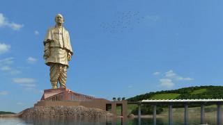 Άγαλμα της Ενότητας: διπλό από το Άγαλμα της Ελευθερίας το υψηλότερο άγαλμα στον κόσμο
