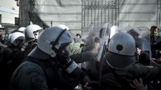 Θεσσαλονίκη: Ένταση κατά τη συγκέντρωση και πορεία διαμαρτυρίας ενάντια στην επέμβαση στη Συρία