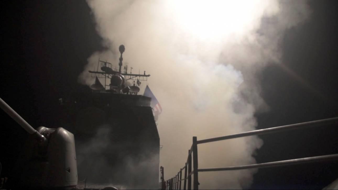 Συρία: Πλήγμα στις εγκαταστάσεις των χημικών όπλων του Άσαντ, λέει το Αμερικανικό Πεντάγωνο
