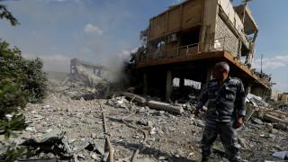 Συρία: Εικόνες από τα ερείπια του Κέντρου Επιστημονικής Έρευνας της Δαμασκού