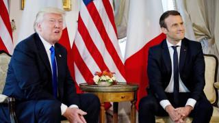Συρία: Τηλεφωνικές επαφές Τραμπ, Μακρόν και Μέι